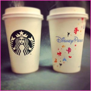 Starbucks Disney Parks cups