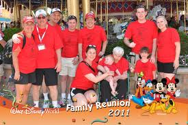 Family Reunion at Disney World