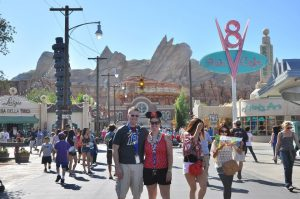 Craig and I at Radiator Springs - September 2012