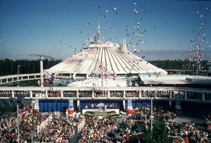 Space Mountain Dedication- January 15, 1975
