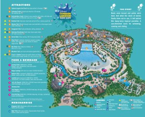 Map of Typhoon Lagoon