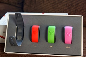 Magic bands with names