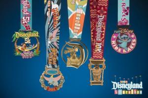 2014 Disneyland Medals