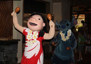 Meet Lilo and Stitch at the Ohana breakfast