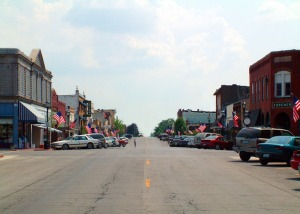 Main Street- Marceline Missouri