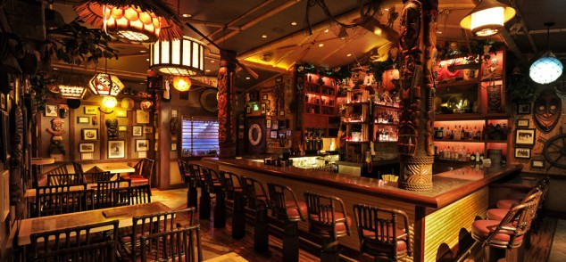 Trader Sam's Enchanted Tiki Bar @ Disneyland