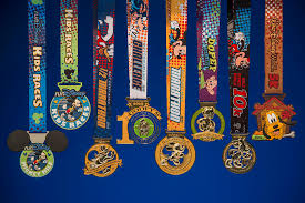 2015 Medals from WDW Marathon Weekend