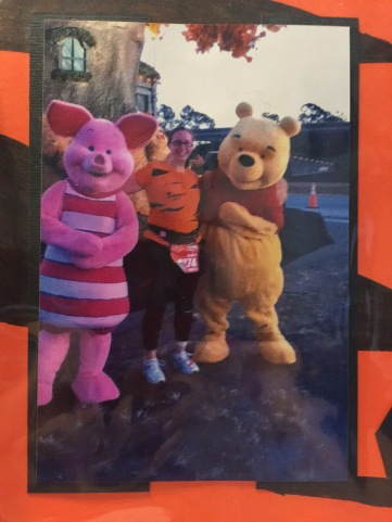 Me dressed as Tigger for my first Disney Marathon!