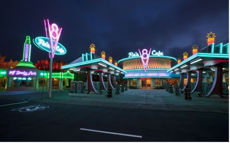 Flo's V8 Cafe- Disney's California Adventure Park