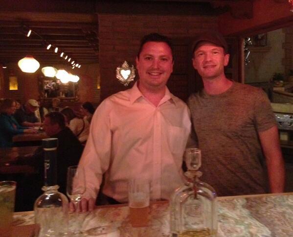 Neil Patrick Harris at La Cava del Tequila