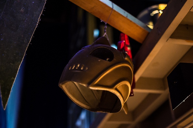 Rocketeer Helmet at Sci-Fi Dine In Theater