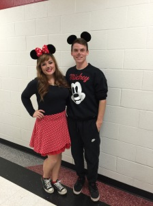 Mickey and Minnie (yes they're a couple)